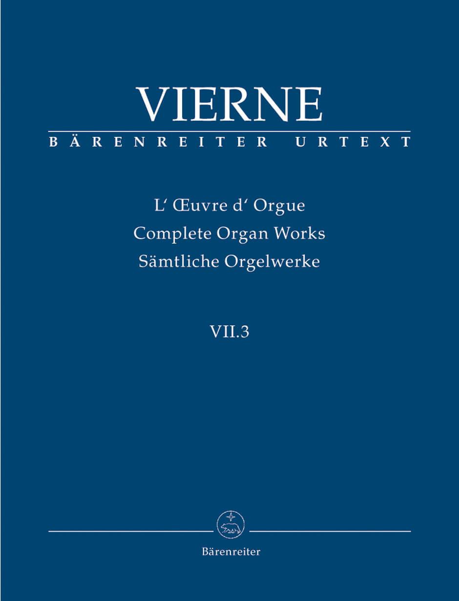 Pieces de Fantaisie en quatre suites, Livre III Op.54