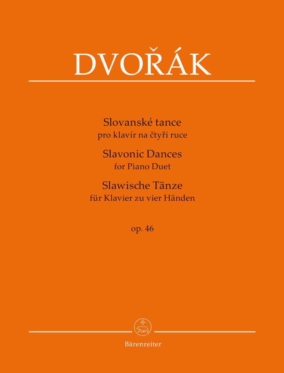 Slavonic Dances for Piano Duet Op.46. Dvorak