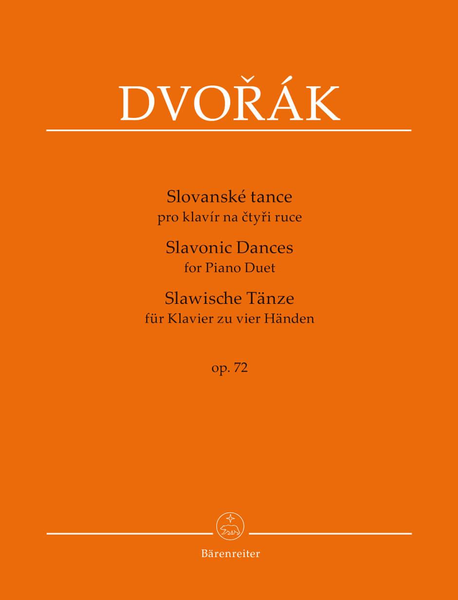 Slavonic Dances for Piano Duet Op.72. Dvorak