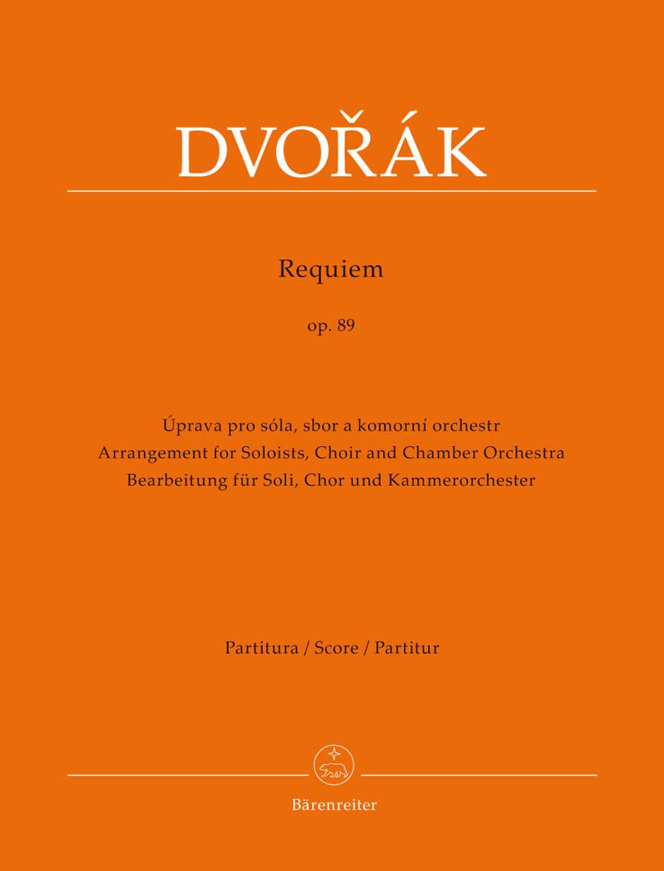 Requiem Op.89 Soloists, Choir and Chamber Orquestra. Dvorak