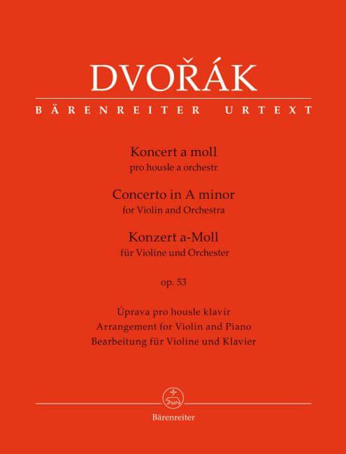 Concerto for Violin and Orchestra A minor op. 53. Dvorak