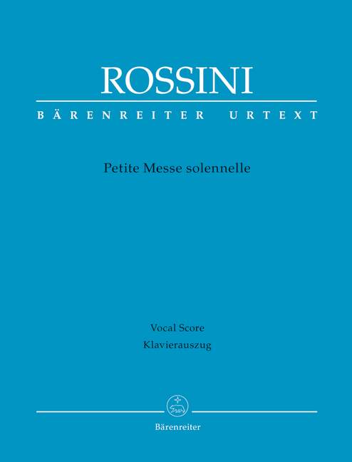Petite Messe solennelle.Rossini