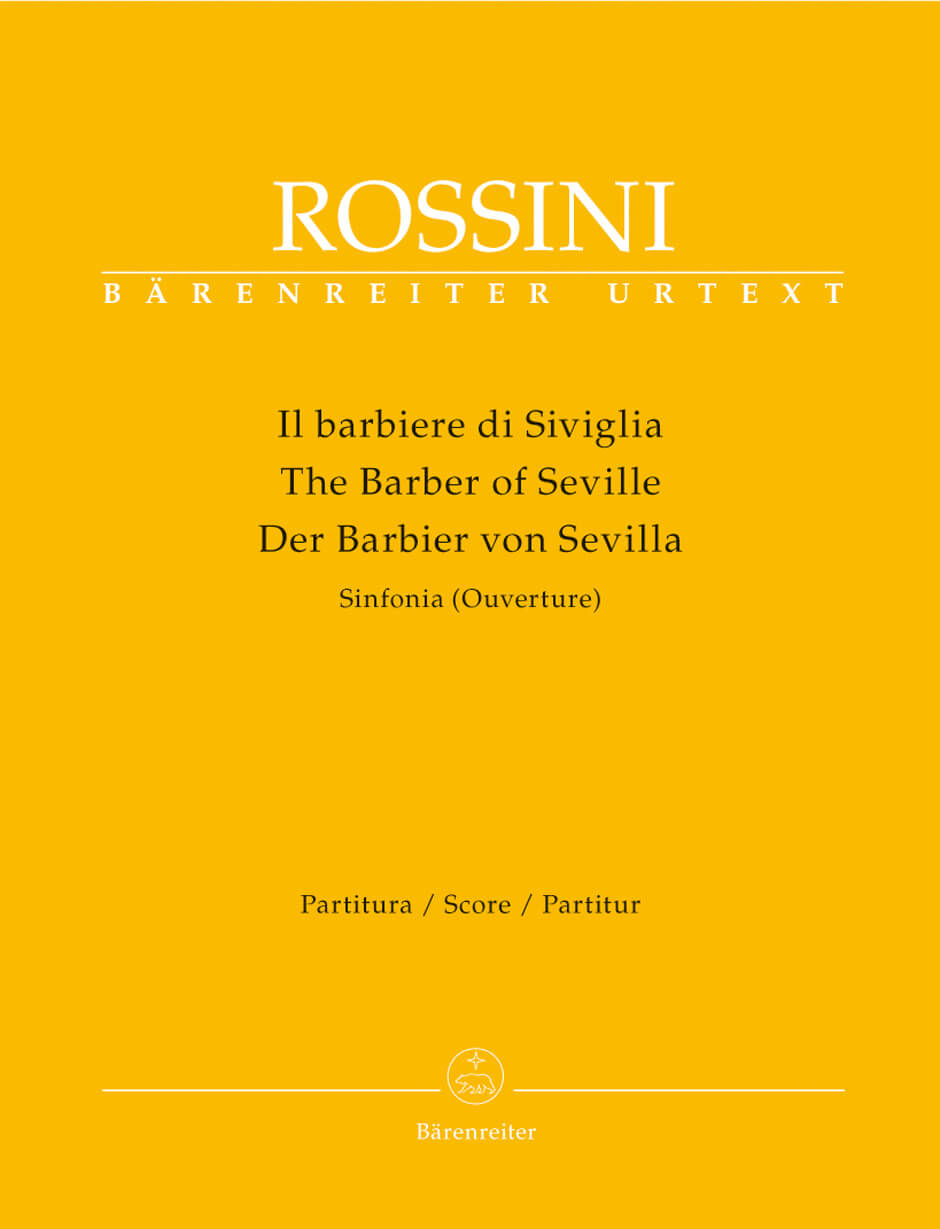 Il barbiere di Siviglia (Der Barbier von Sevilla). Sinfonia