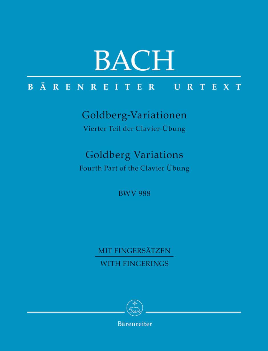 Goldberg Variations BWV988  piano Bach,J.S (Digitada)