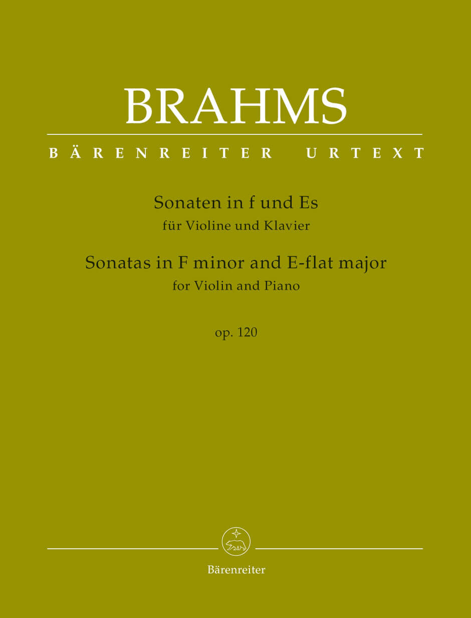 Sonatas in F minor and E-flat major for Violin and Piano (af