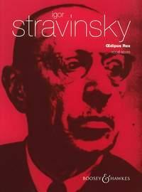Oedipus Rex. Voz-piano. Stravinsky.