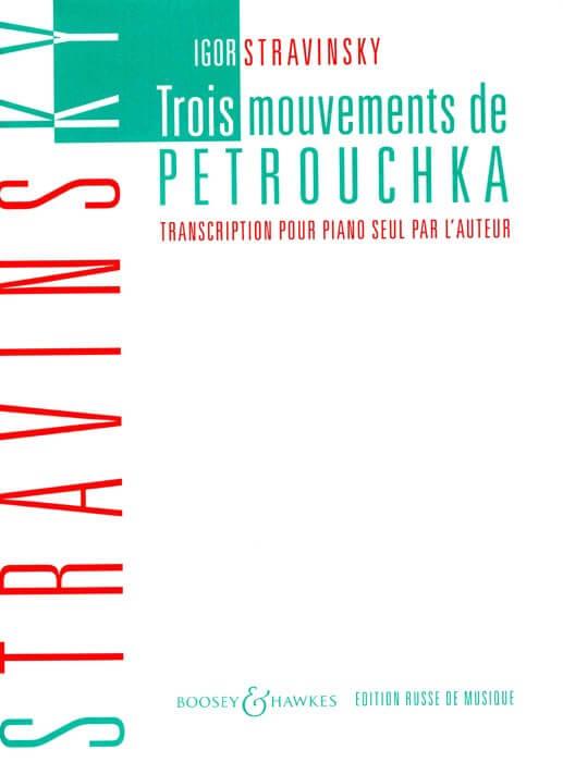 Three Movements from Petrushka Piano . Stravinsky