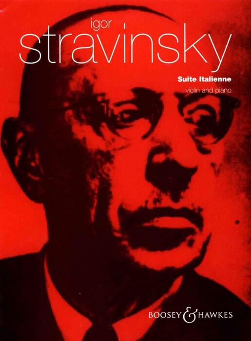 Suite Italienne aus Pulcinella. Violin-piano. Stravinsky.
