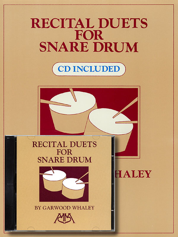 Recital Duets for Snare Drum CD Included