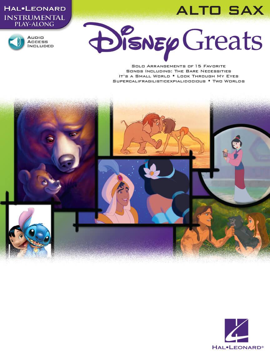 Disney Greats. Saxofón alto