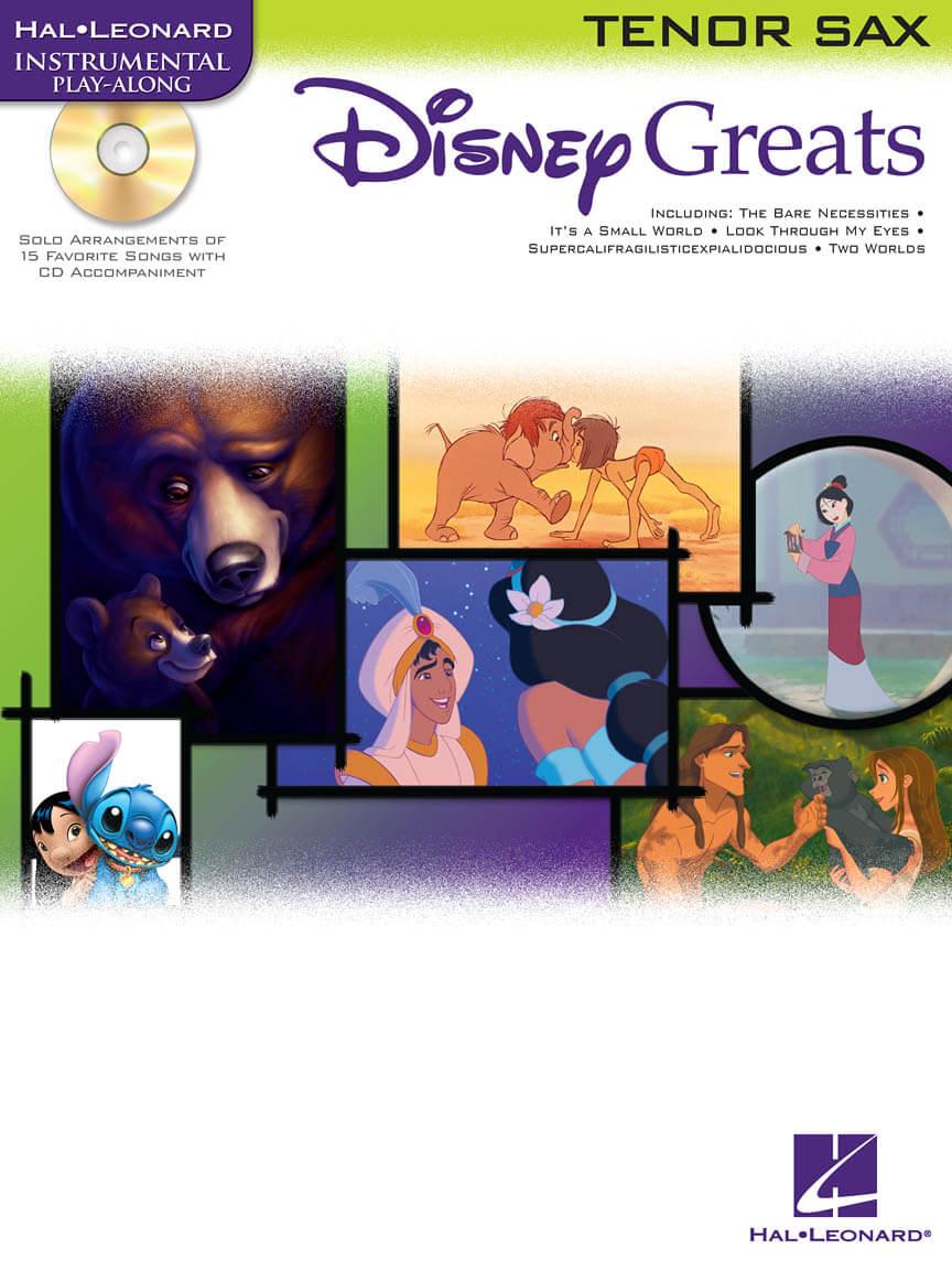 Disney Greats. Saxofón tenor