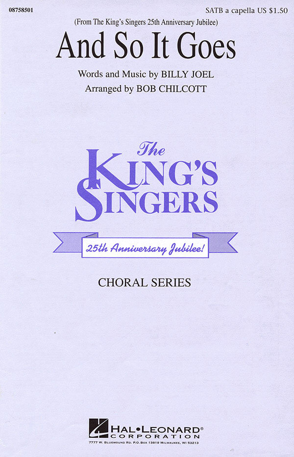 The King's Singers: And So It Goes