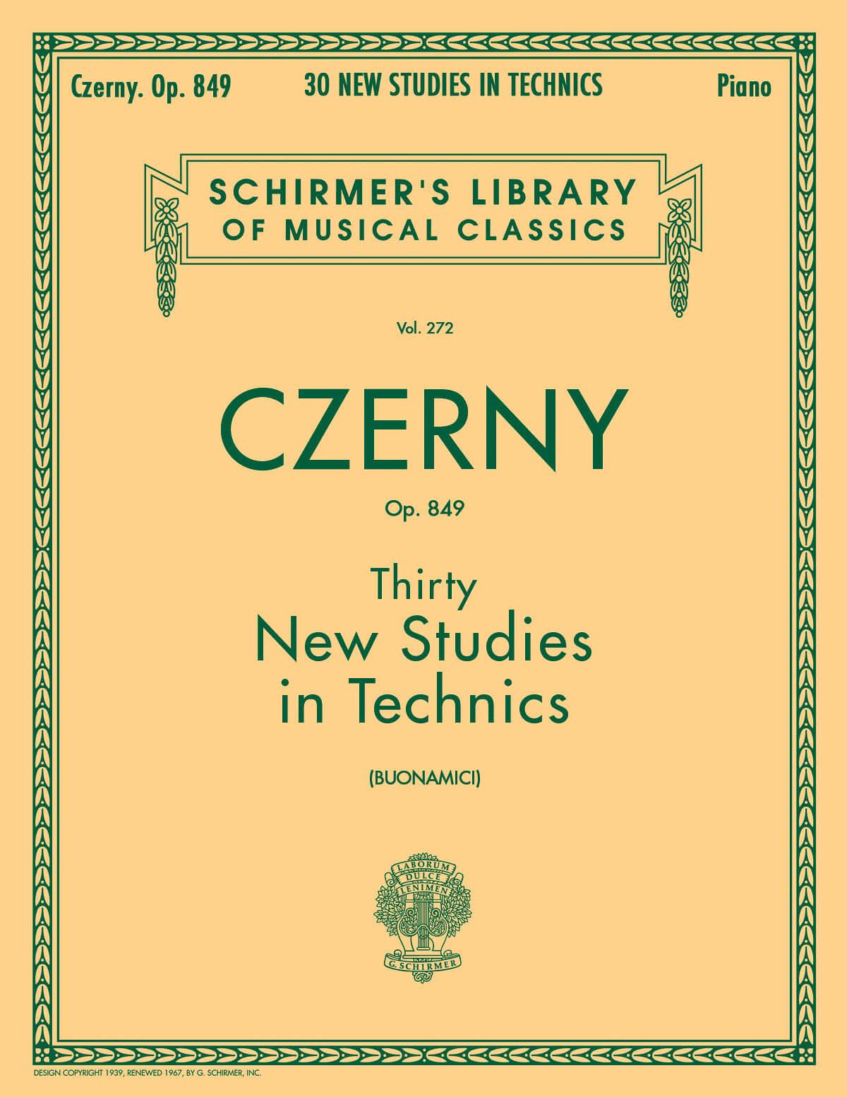 Thirty New Studies in Technics, Op. 849