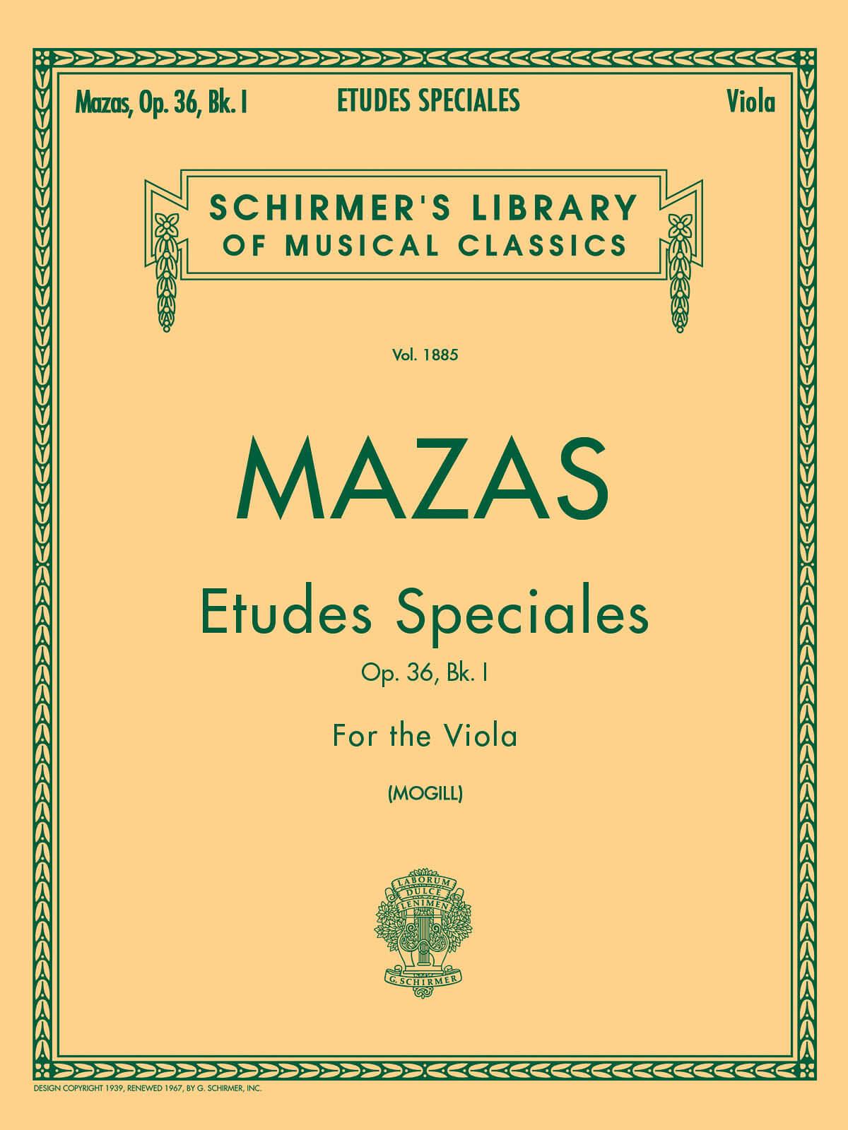 Etudes Speciales, Op. 36 - Book 1