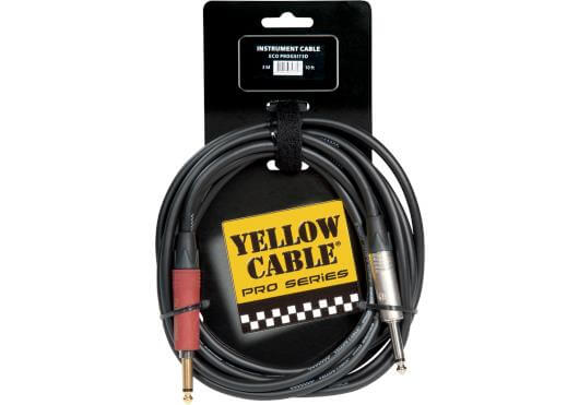 Cable Guitarra/Bajo Eléctrico Yellow Cables Jack-Jack 3M