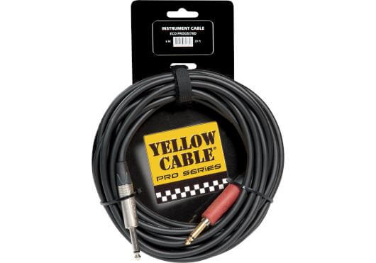 Cable Guitarra/Bajo Eléctrico Yellow Cables Jack-Jack 6M