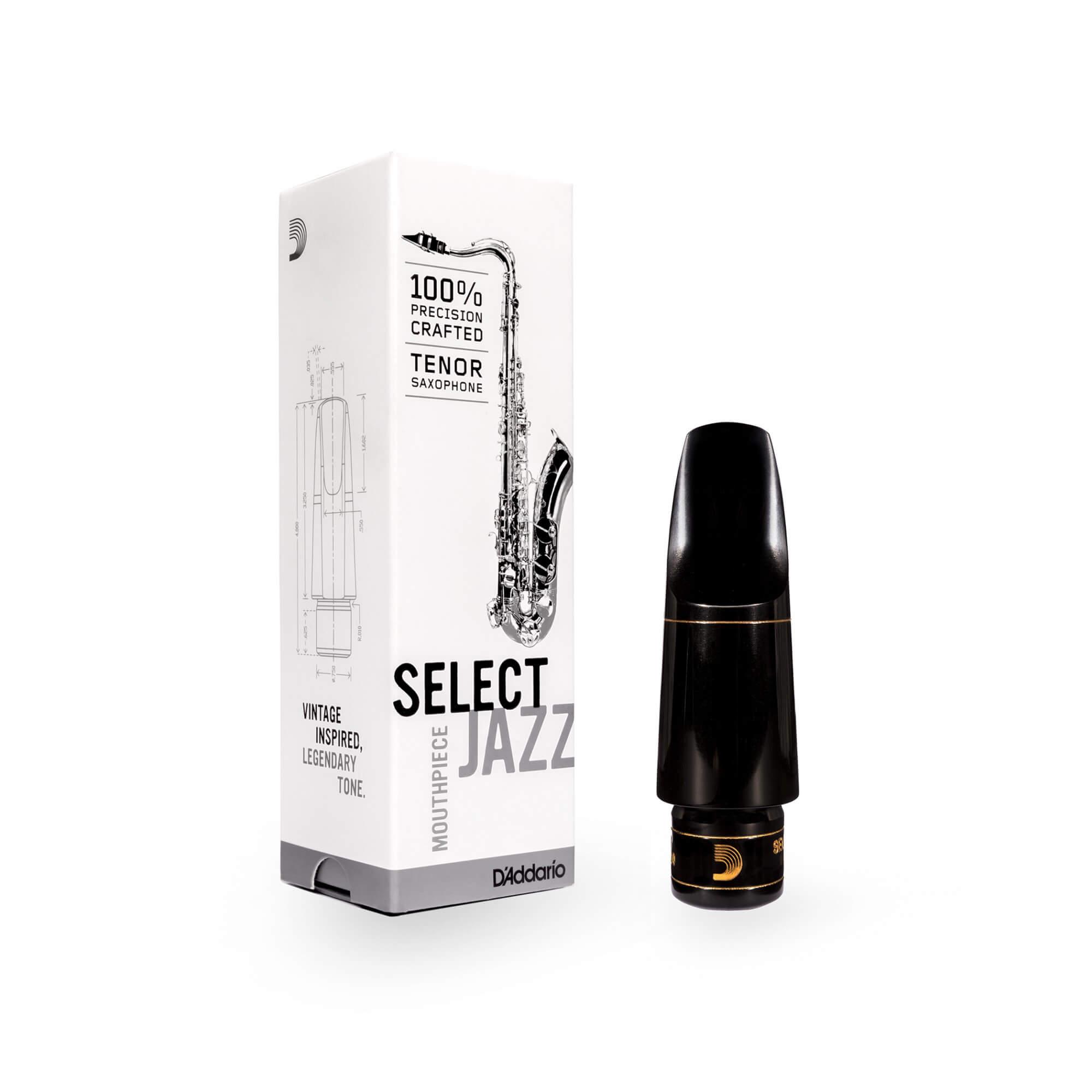 Boquilla Saxofón Tenor D'Addario Select Jazz D6M