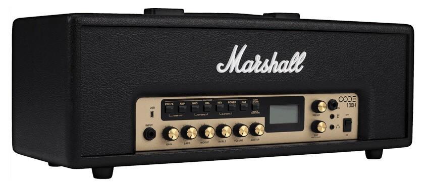 Cabezal Amplificador Guitarra Marshall Code Series 100W