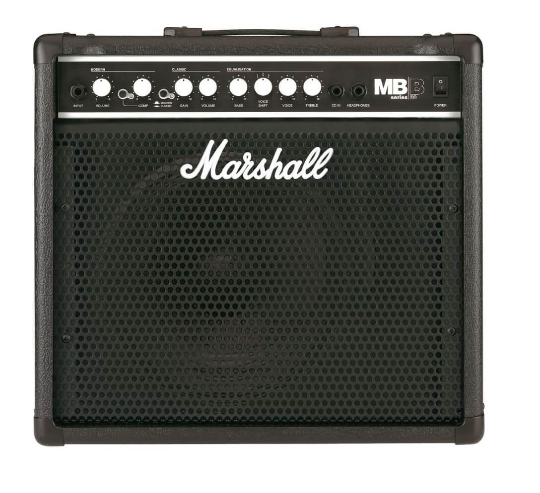 Amplificador Bajo Eléctrico Marshall Bass Series 30W