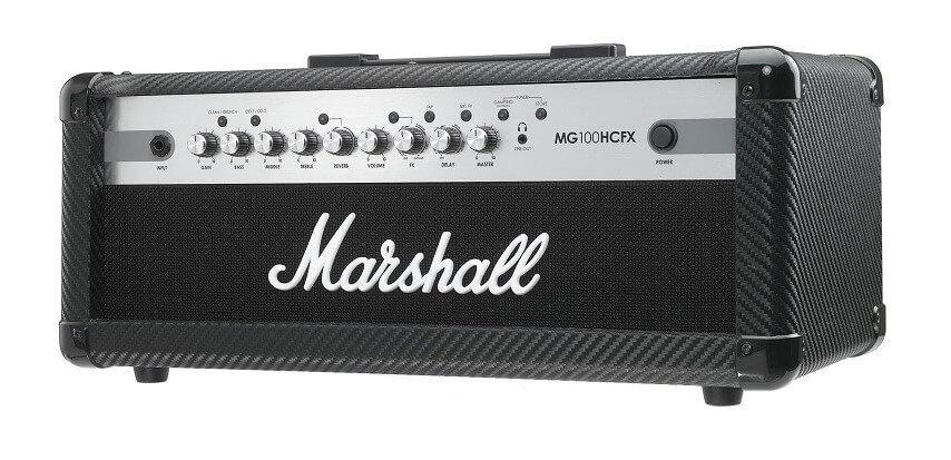 Cabezal Amplificador Guitarra Marshall Mg Carbon Fibre