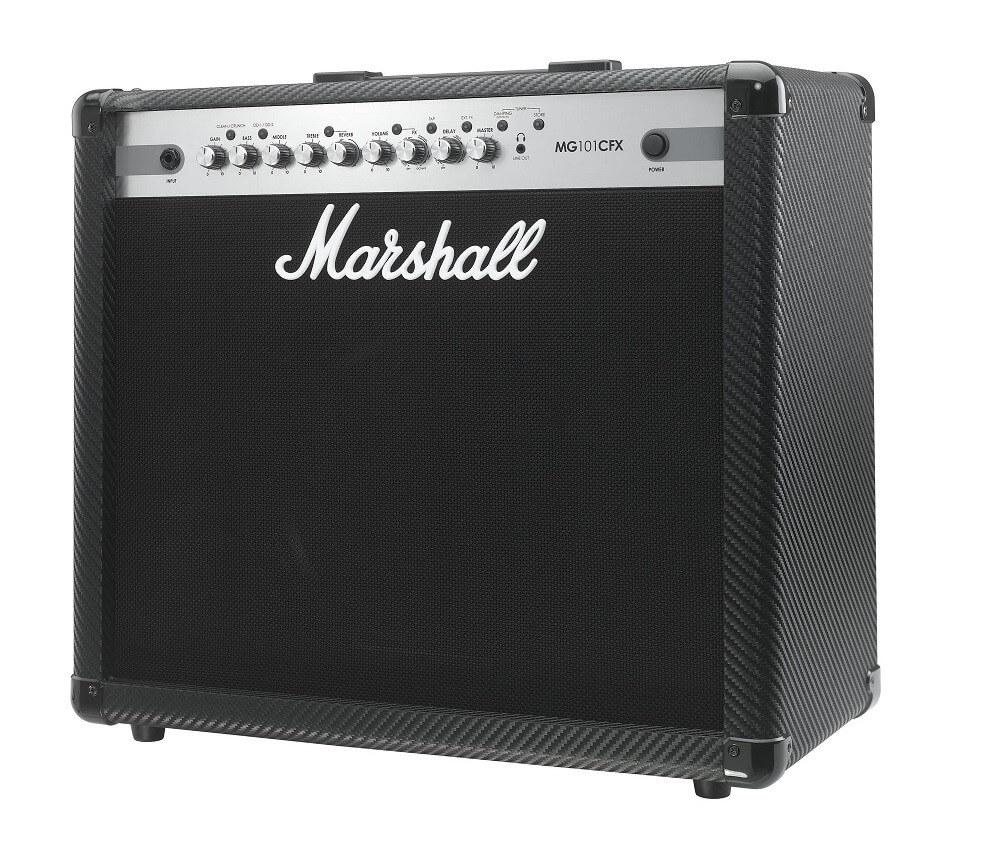 Amplificador Guitarra Marshall Mg Carbon Fibre 100W