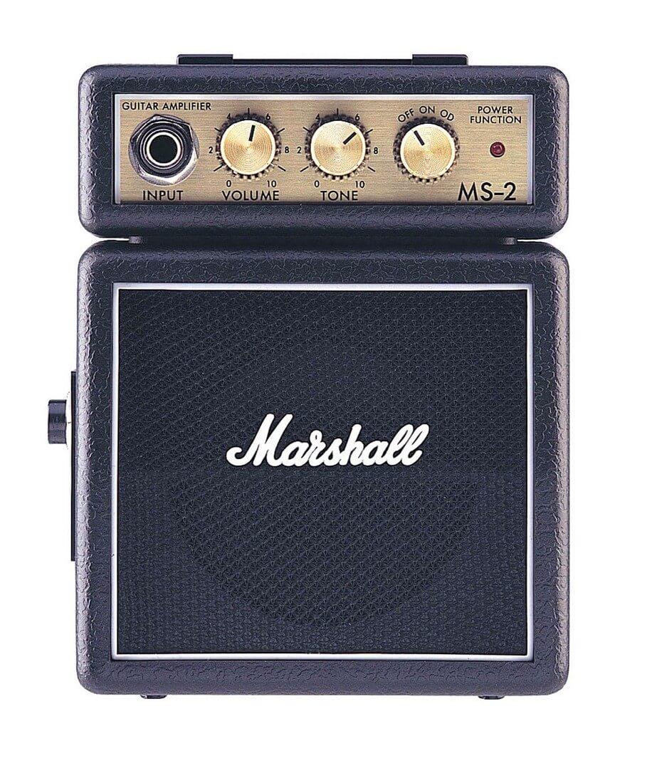 Amplificador Guitarra Marshall Micro Amps 2Wnegro