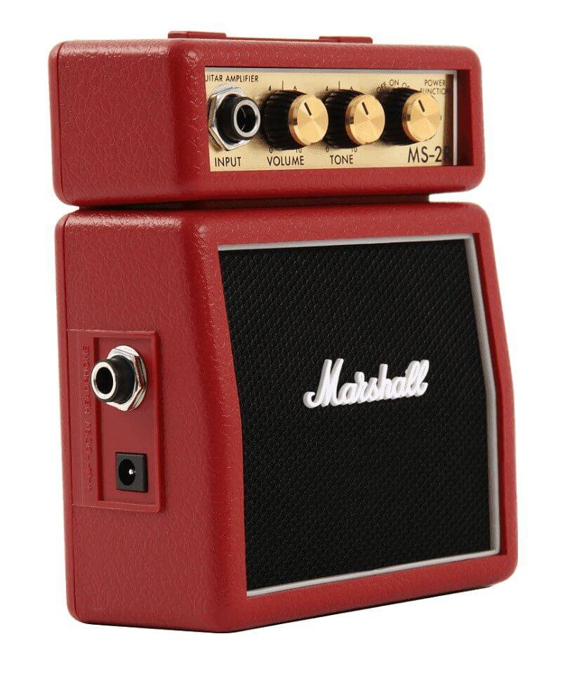 Amplificador Guitarra Marshall Micro Amps 2Wrojo