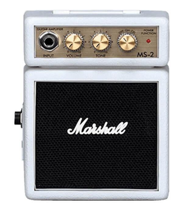 Amplificador Guitarra Marshall Micro Amps 2Wblanco