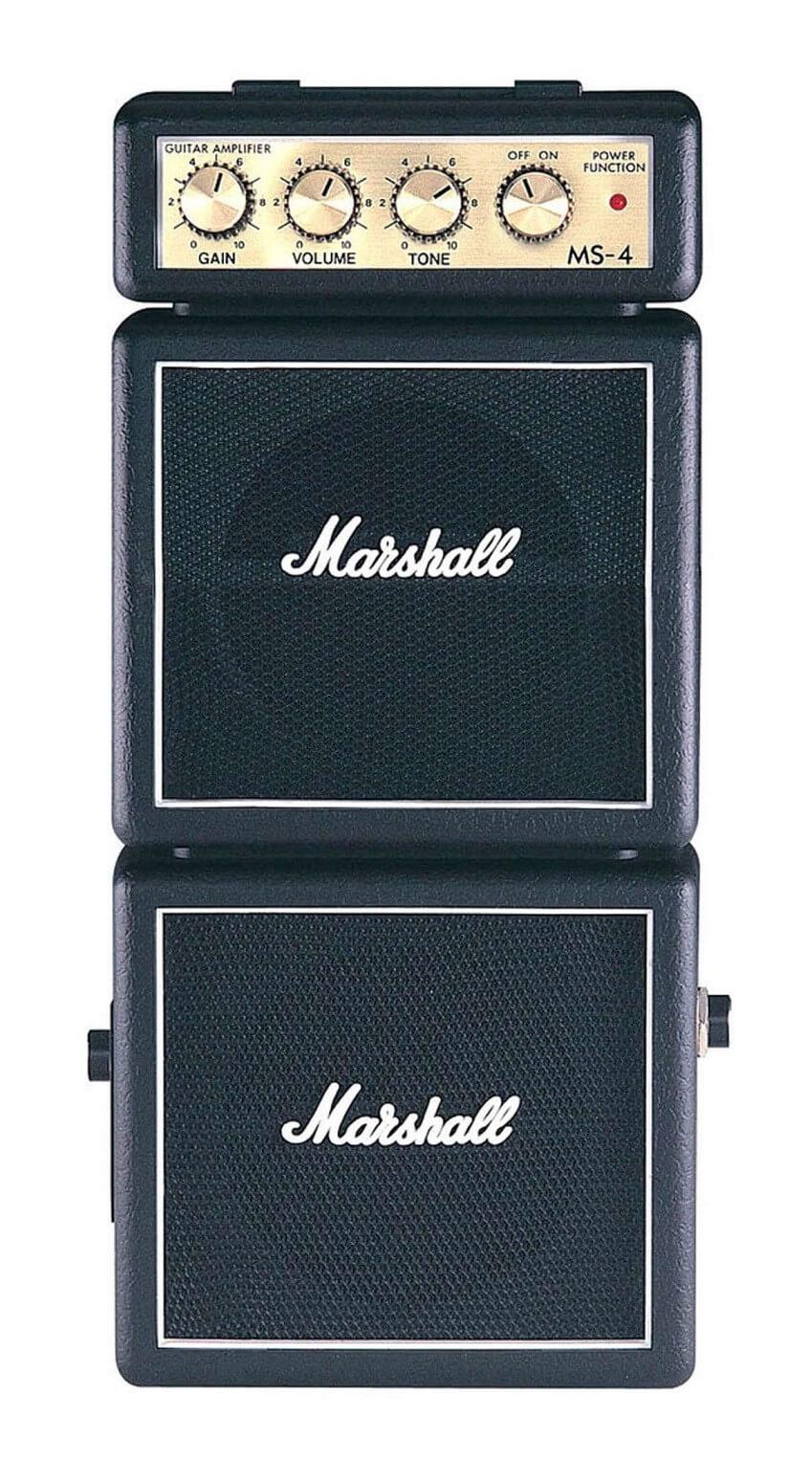Amplificador Guitarra Marshall Micro Amps 2X2Wnegro