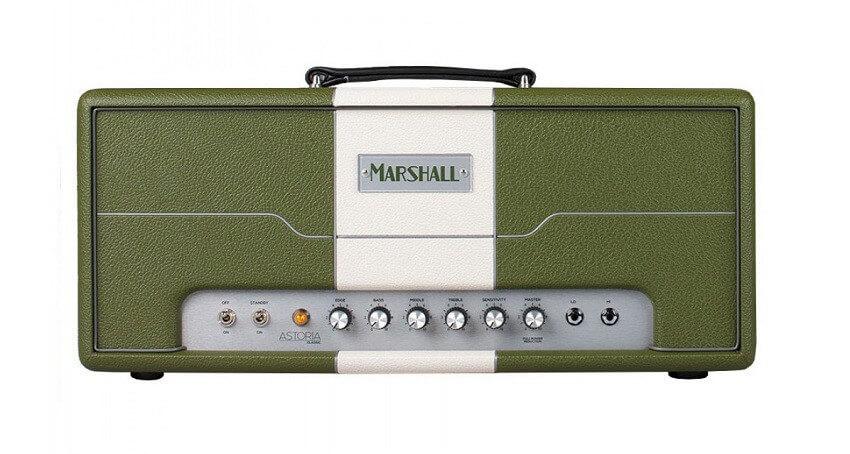 Cabezal Amplificador Guitarra Marshall Astoria Green