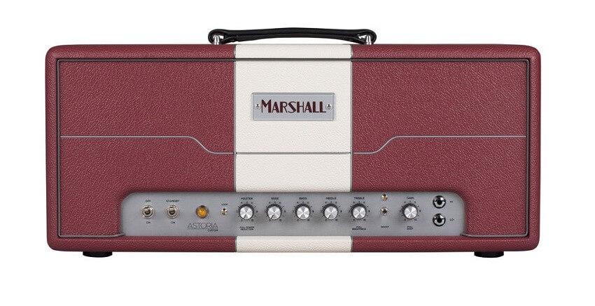 Cabezal Amplificador Guitarra Marshall Astoria Red