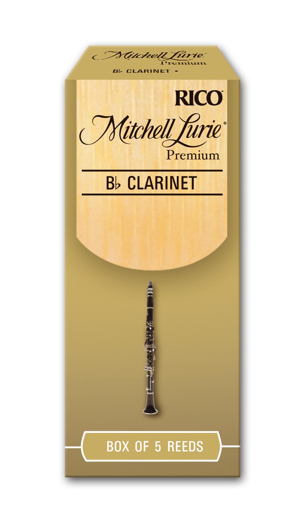 Caja Cañas Clarinete Sib D'Addario Lurie Premium Nº 1,5