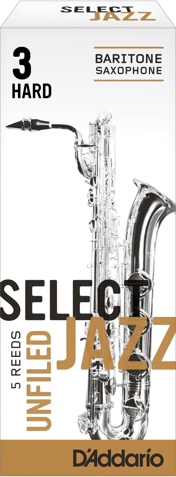 Caja Cañas Saxofón Barítono Select Jazz Unfiled