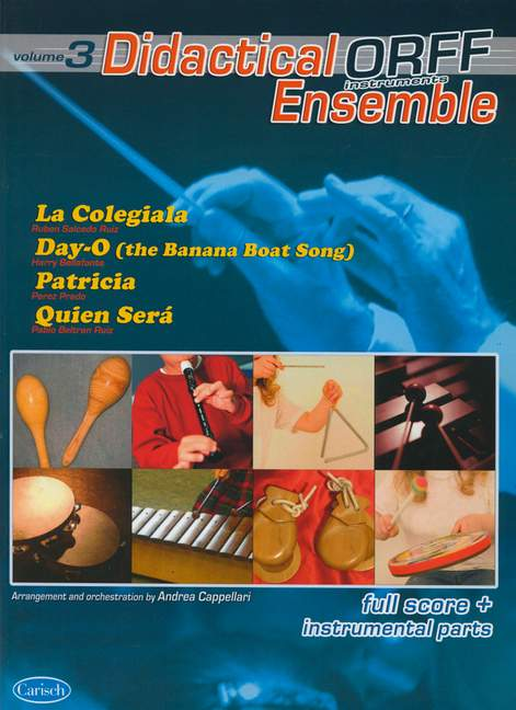 Didactical Ensemble Orff Instruments Vol3. Full Score And In