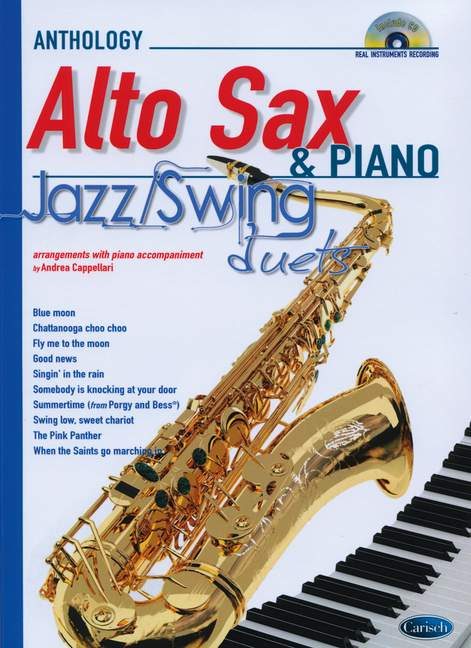 Anthology Jazz/Swing Duets. Arrangements With Piano Accompan