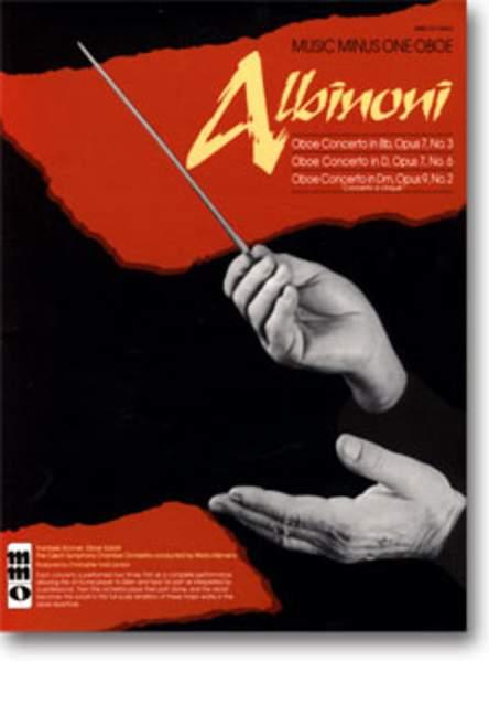 Oboe Concerti (no.3 in Bb - no.6 in D - in D minor no.2) Albinoni