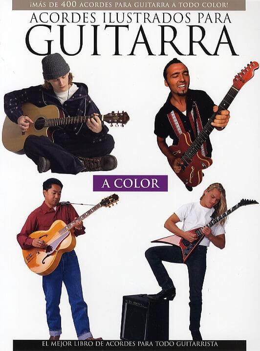 Acordes Ilustrados Para Guitarra A Color