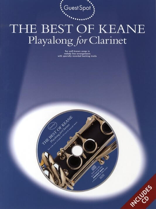 Best Of Keane Playalong for clarinet +cd