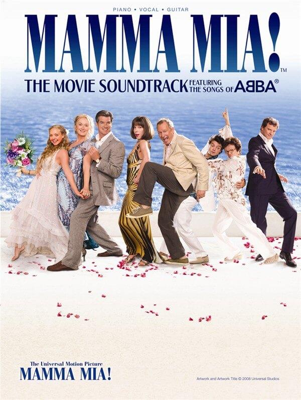 Mamma Mia! - The Movie piano voz and guitar