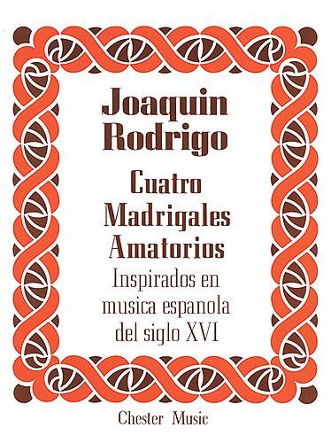 Madrigales Amatorios(4) Hoog