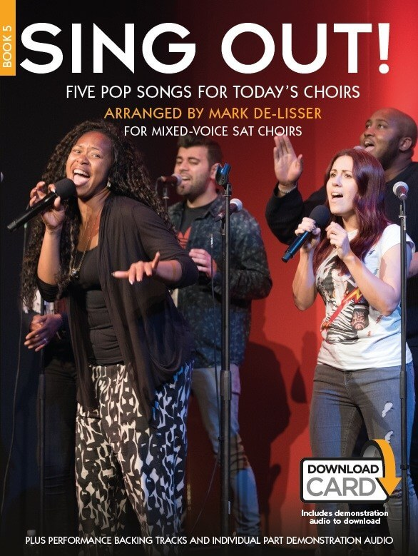 Sing Out! 5 Pop Songs For Today's Choirs - Book 5
