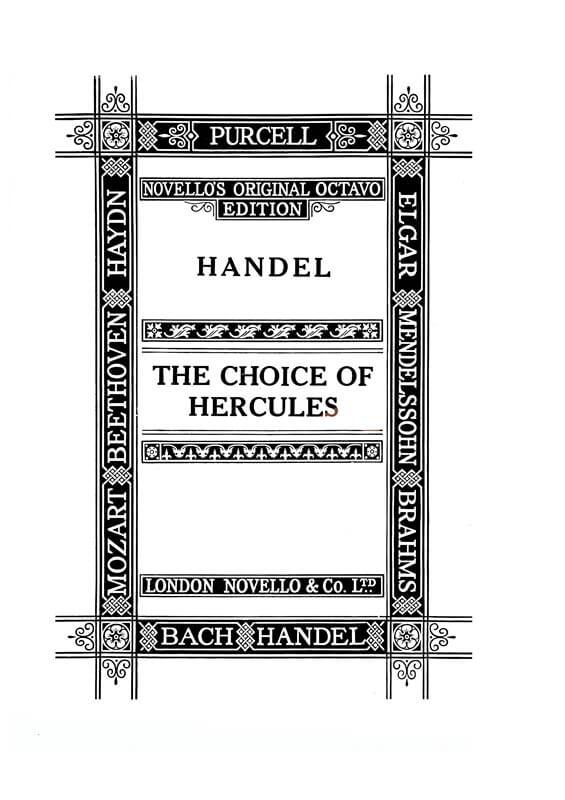 The Choice of Hercules (SATB).