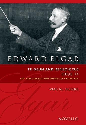 Te Deum And Benedictus Op.34 coro SATB-Organo