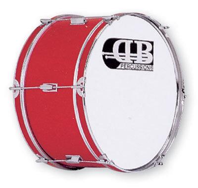 Bombo Banda 20X10 Db0047. Rojo