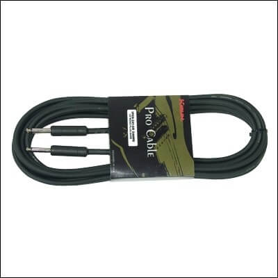 Cable Standart Inst.Ipch-241-10M Jack-Jack 24 Awg. Negro