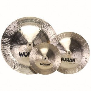 Plato 19 China Cymbal Wuhan  Mv0240. Dorado