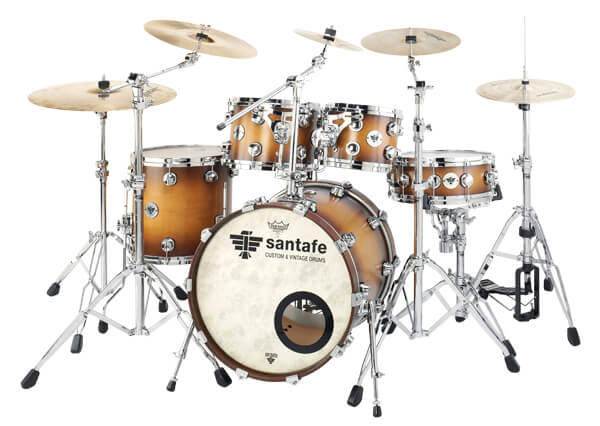 Set Jazz Model Ii Maple Custom St0550. Standard
