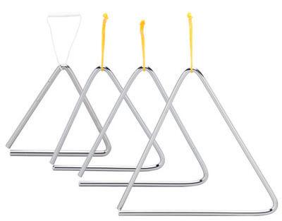 Triangulo Acero 18Cm C/ Golpeador Ref 01810