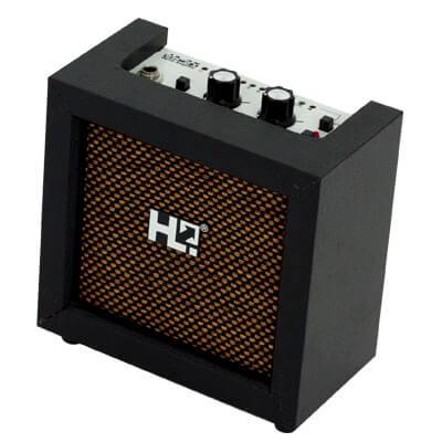 Mini Amplificador Guitarra Con Afinador Ja-3T. Rojo