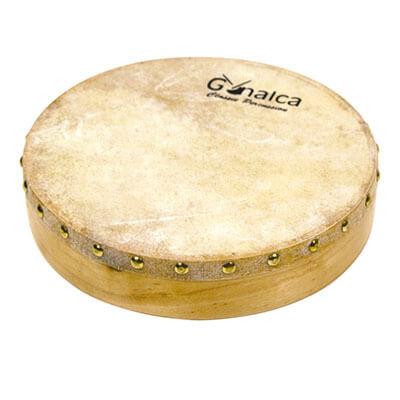 Pandero De Piel 25 Cm Clavado Vh01510. Standard